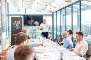 Degustacja win australijskich w restauracji Szafarnia 10