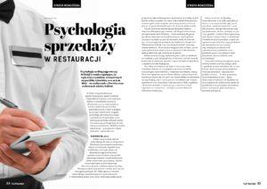 """""""Psychologia sprzedaży w restauracji"""""""